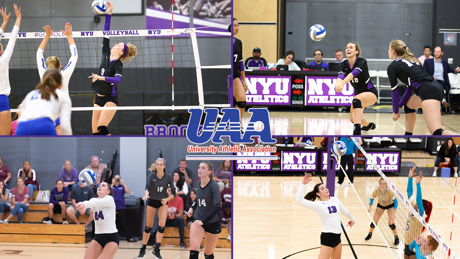 Uaa Honors Four Women S Volleyball Players Nyu Athletics